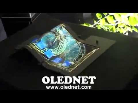 Tabletele vor putea fi împăturite(VIDEO)