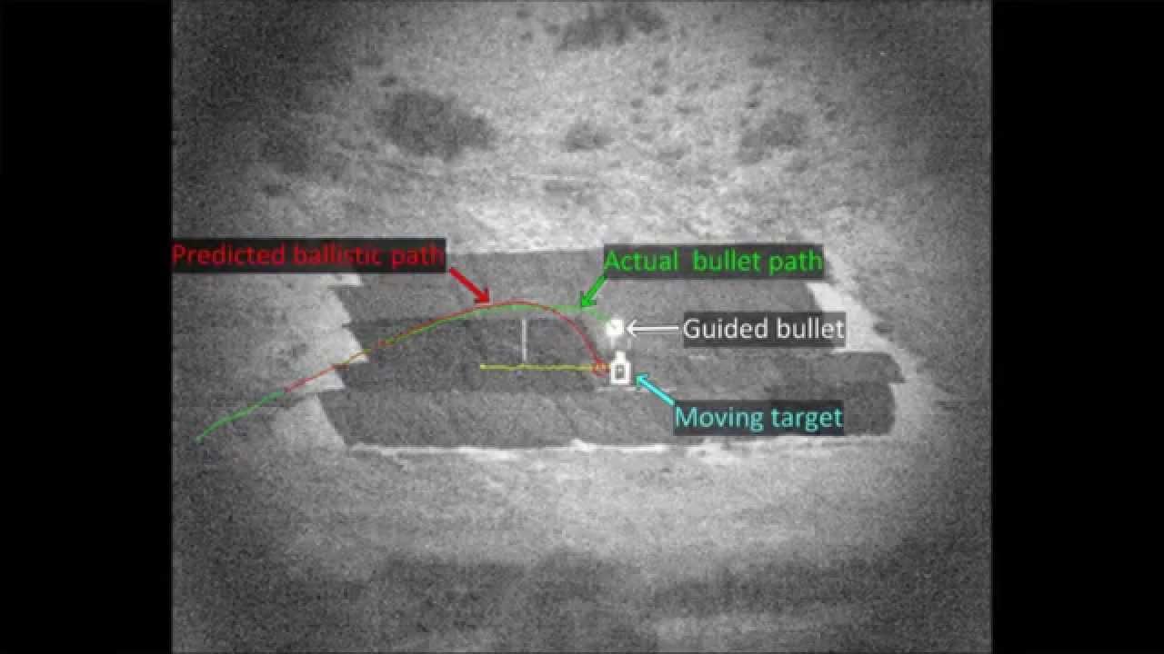 Tehnologie Interesanta: Glonţul inteligent care îşi schimbă direcţia(VDEO)