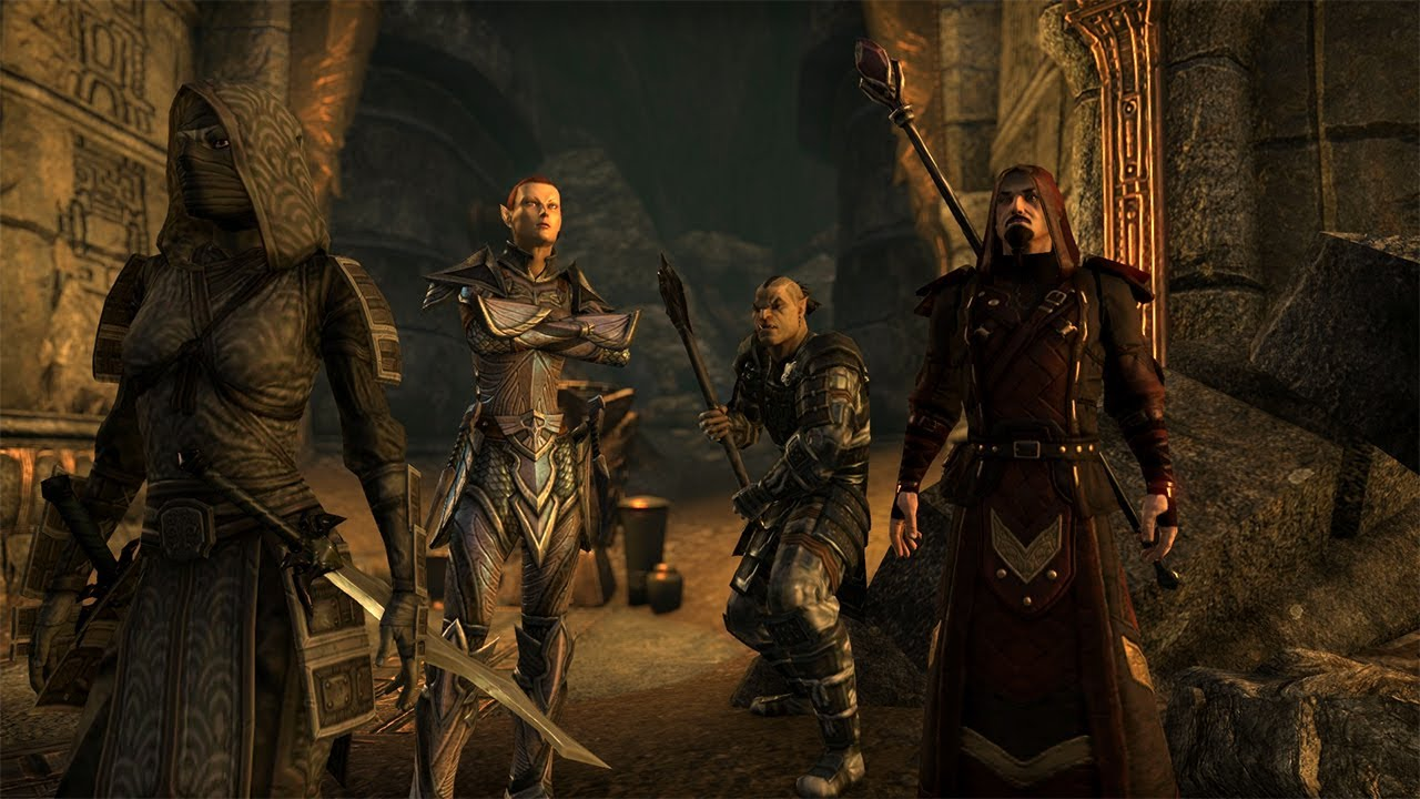 The Elder Scrolls Online-Character Progression: Be Who You Want to Be