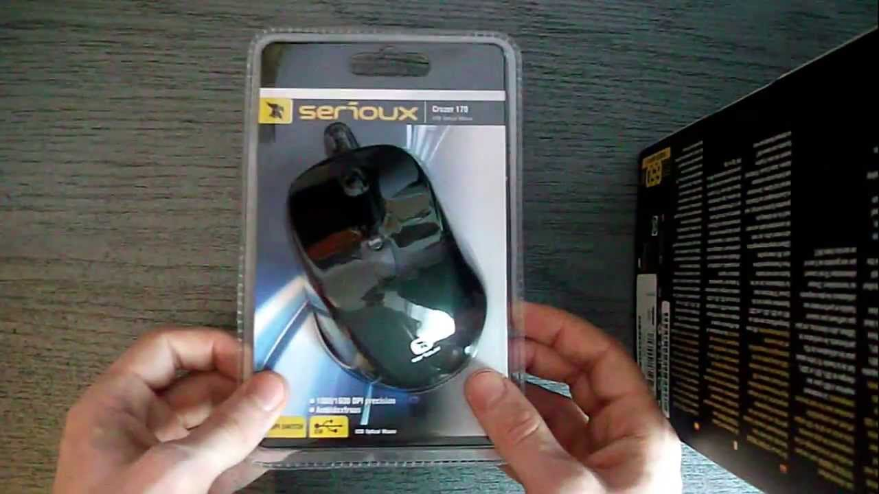 Unboxing Mouse Serioux Cruzer 170