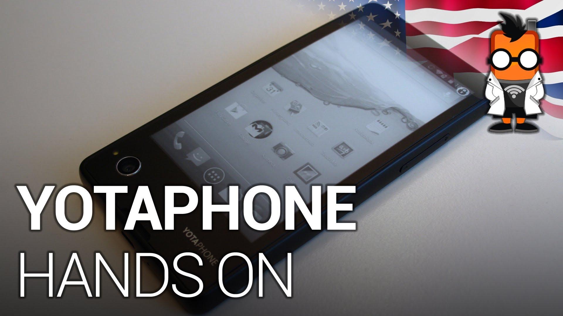 Yotaphone Primul Smartphone Rusesc