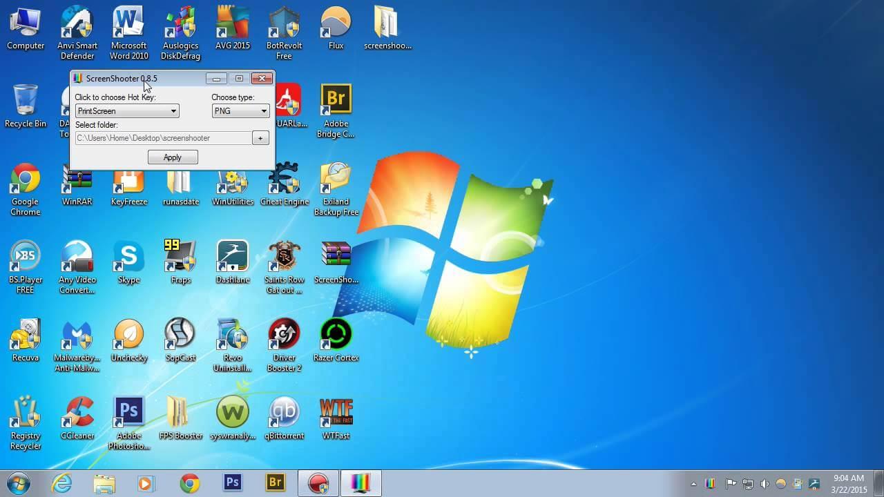 Cel mai simplu program pentru Captura Desktop