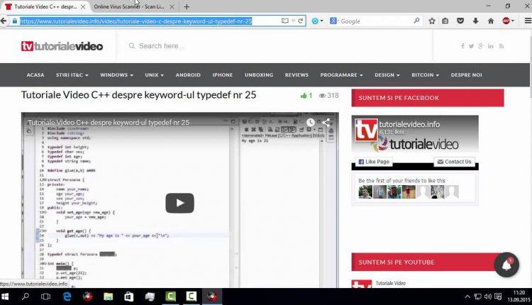 Scanează URL-urile suspecte în Firefox, din meniul contextual