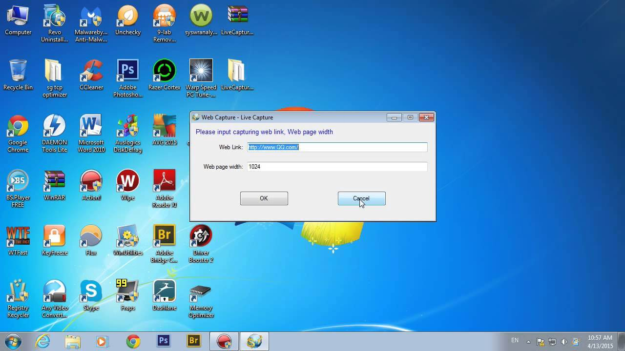 Live Capture program gratuit de facut screenshot-uri
