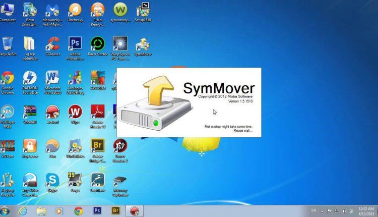 SymMover program pentru mutarea programelor instalate fara a le reinstala