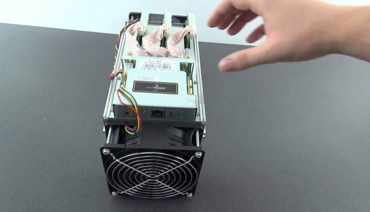 Unboxing Antminer s7 aparat de minat bitcoin