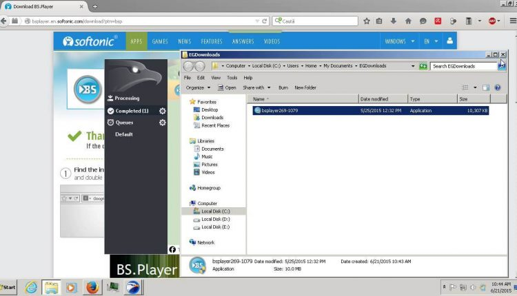 EagleGet un manager excelent de download