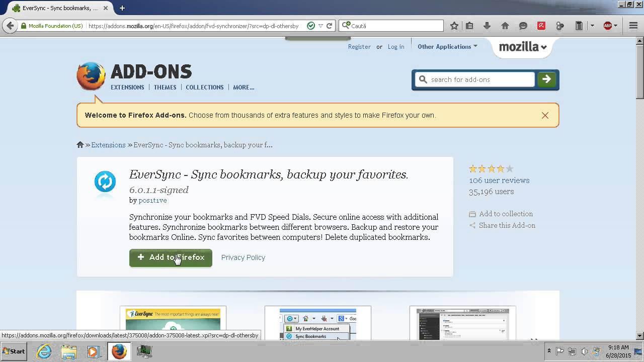 Add-on pentru sincronizarea bookmark-urilor pe Firefox,Chrome si Internet Explorer