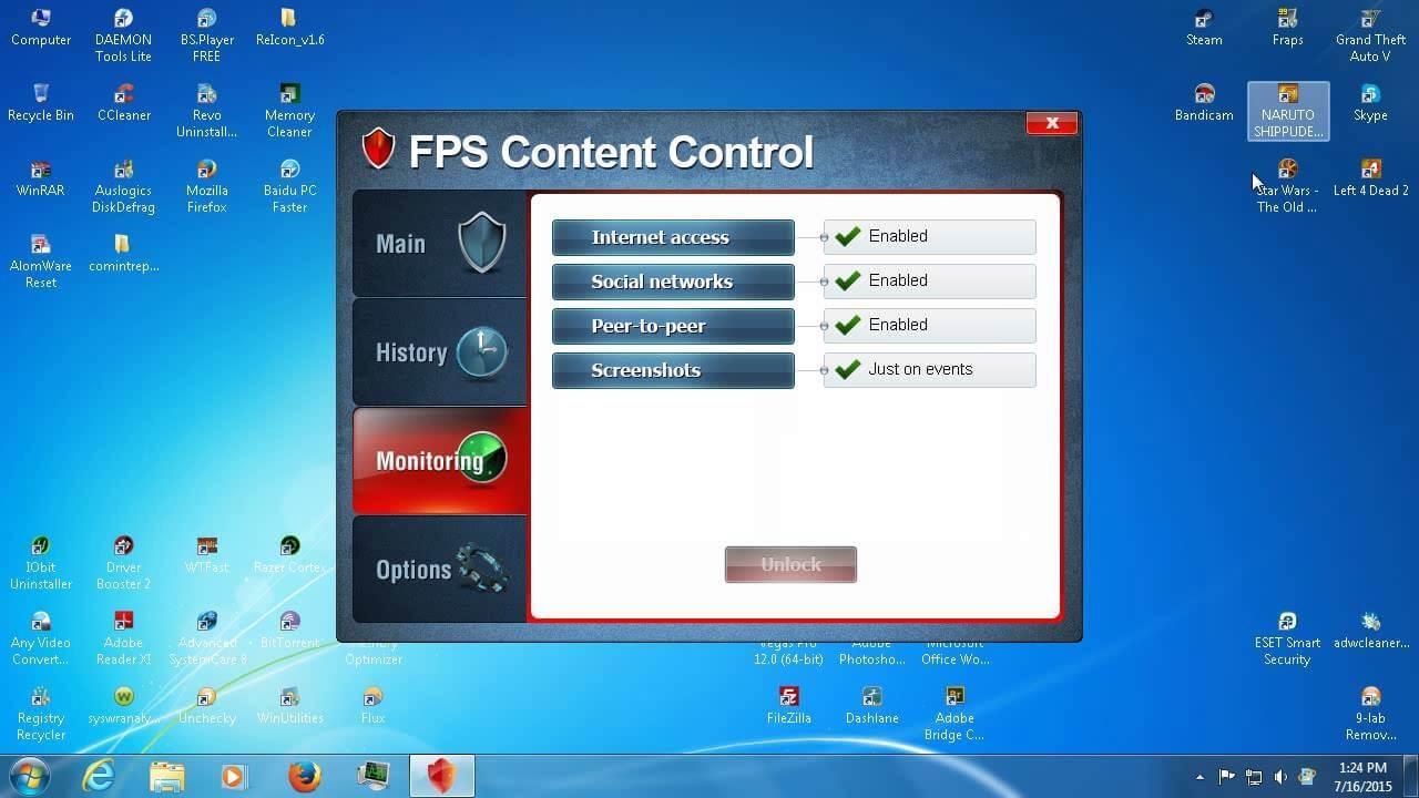 FPS Content Control un program avansat de control parental