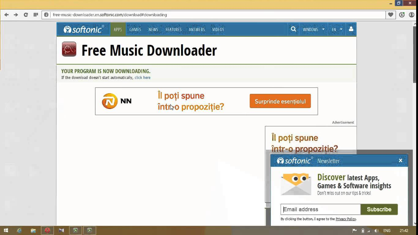 Free Music Downloader – Descarca muzica de pe internet