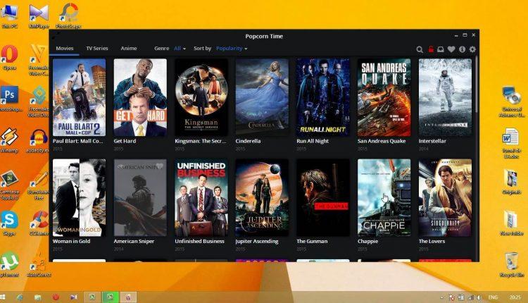 PopcornTime – Vizioneaza filme online gratuit