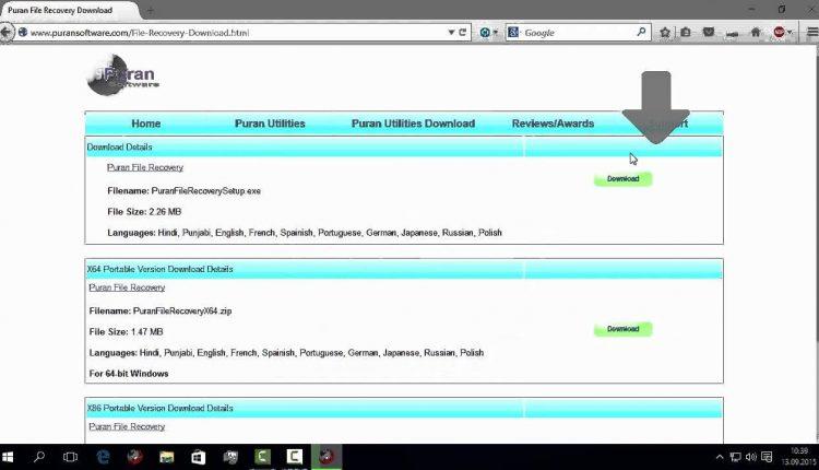Recuperare conținut DVD/CD, BluRay, SD-Card, stick USB cu Data Recovery