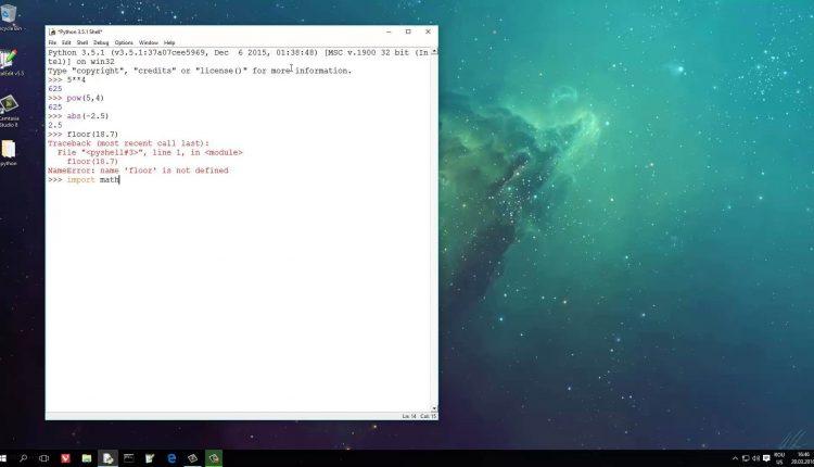 Tutoriale Video Python nr. 6 despre funcții și module