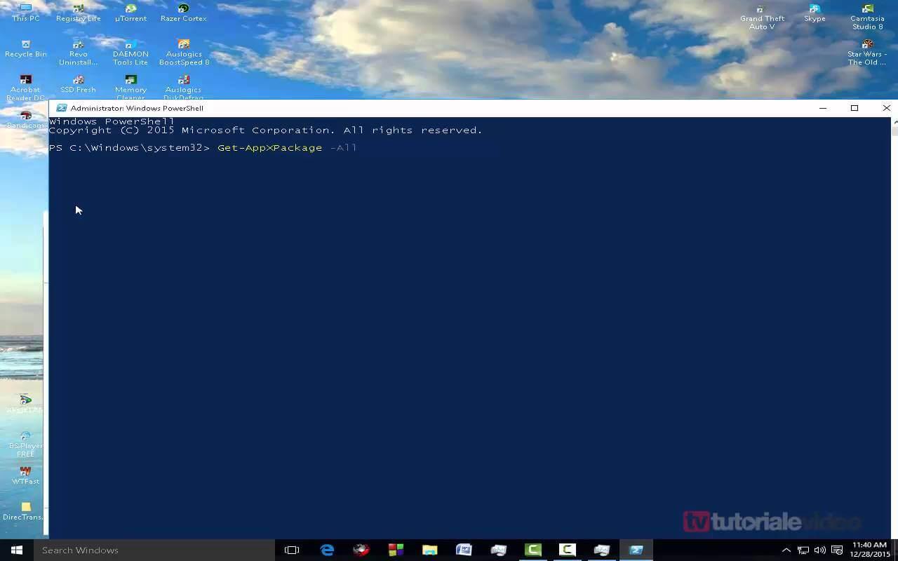 Cum rezolv eroarea critica din meniul Start și Cortana nu funcționează