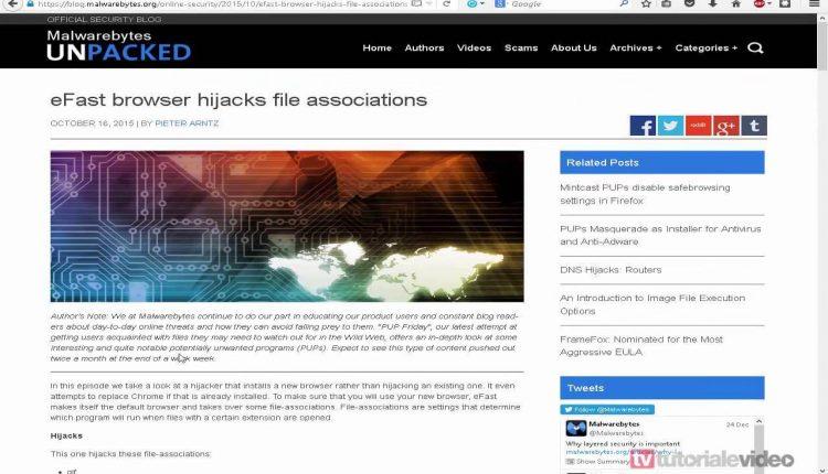 Un malware care poate sterge si inlocui intregul browser Google Chrome cu unu fals