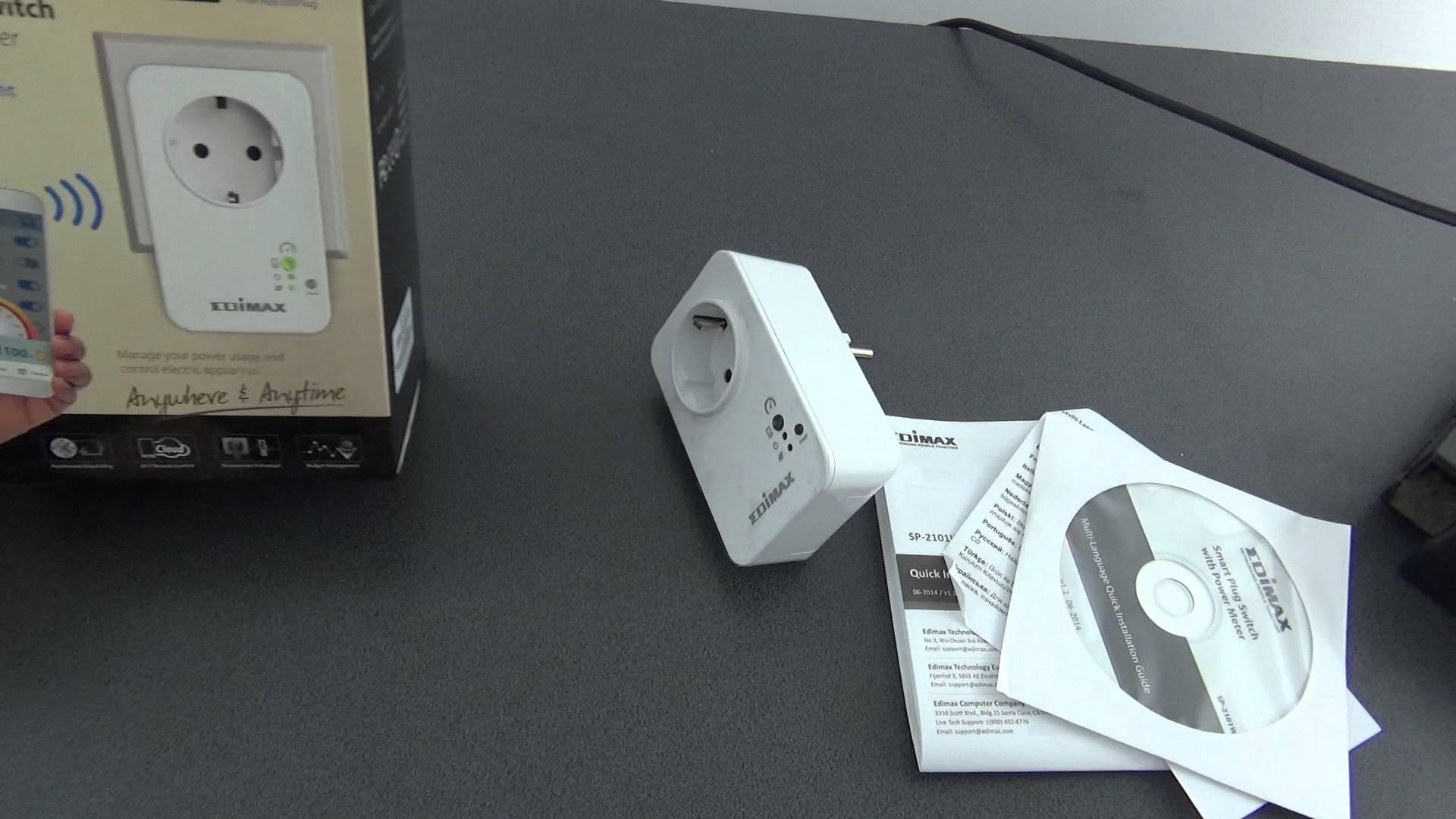 Unboxing Edimax Smart Plug priza inteligenta