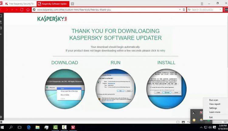 Kasperesky Tools,niste unelte ce ne protejeaza si curata sistemul de operare