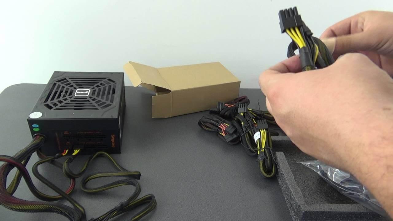 Unboxing sursa SEGOTEP GP900G Proiectul moneda virtuala Ethereum
