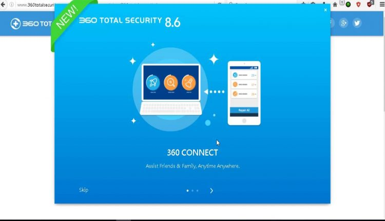 "360 Total Security este un antivirus,care de la ultimile actualizari incoace a devenit ""killer"" in ceea ce priveste amenintarile online"