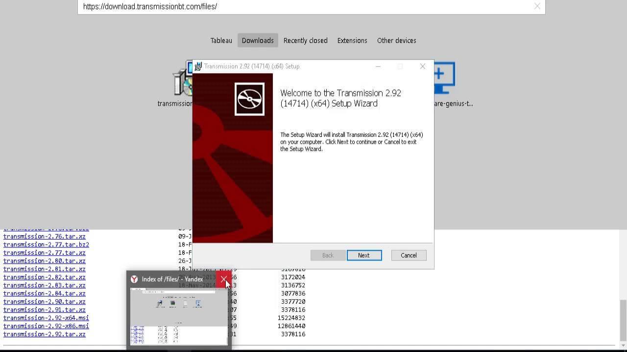 Transmission, un client BitTorrent din OS X și Linux foarte utilizat , acum și pentru Windows!
