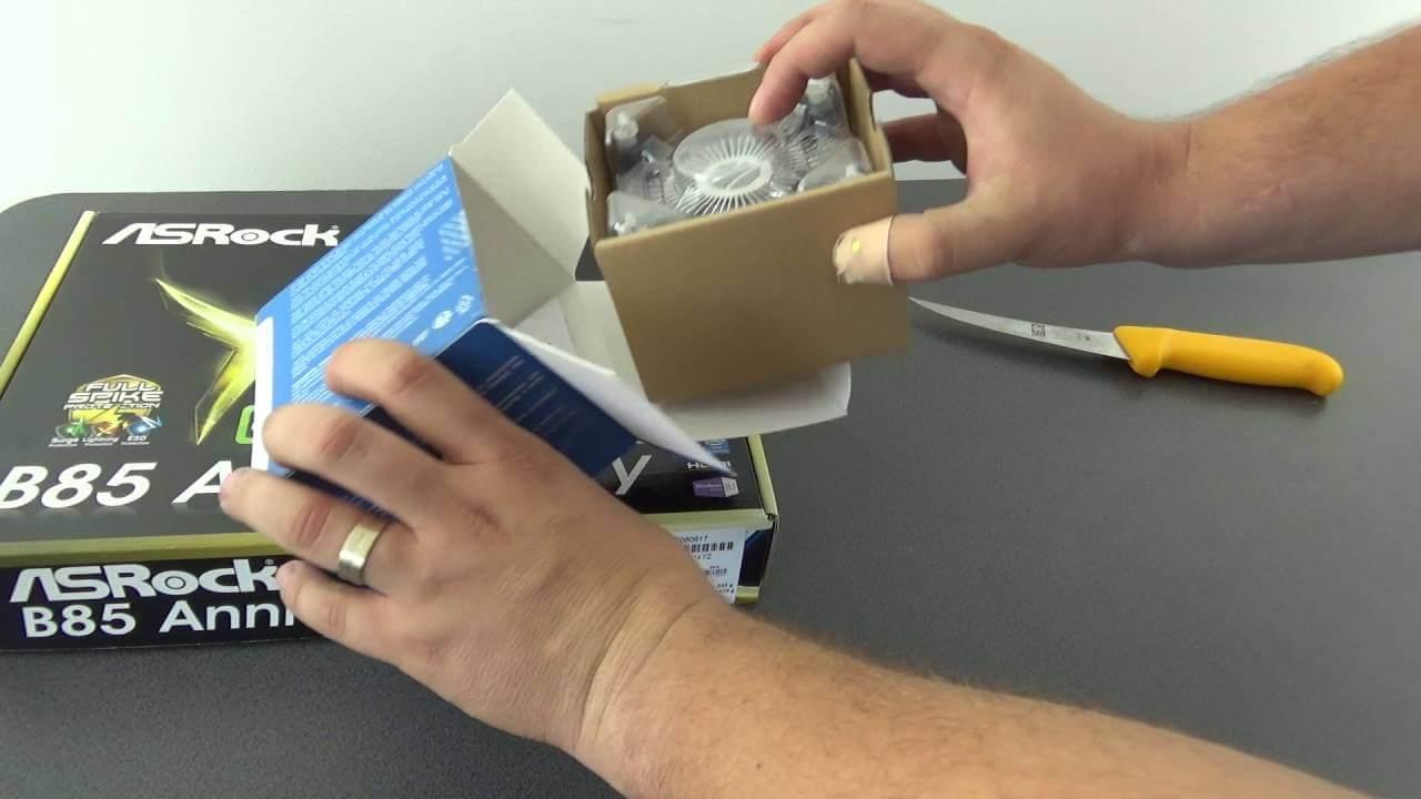 Unboxing procesor G3260 pentru proiectul Ethereum