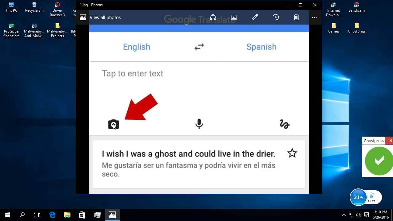 Cum putem traduce un cuvant necunoscut,instant,folosind smartphone-ul