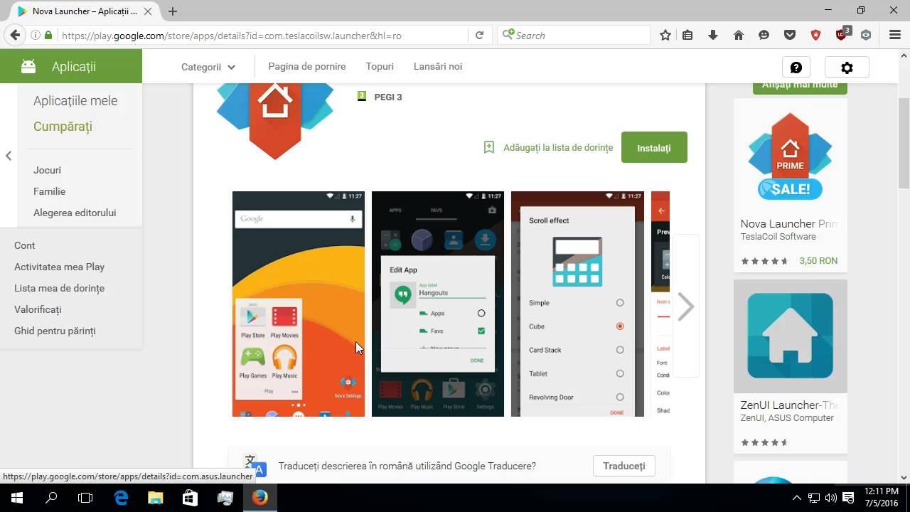 Launchere pentru Android,mult mai rapide si sigure pentru telefonul nostru.