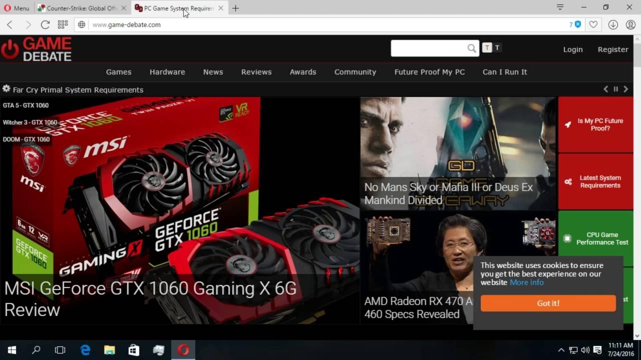 Cum verificam daca un joc merge sau nu pe PC-ul/laptop-ul nostru.