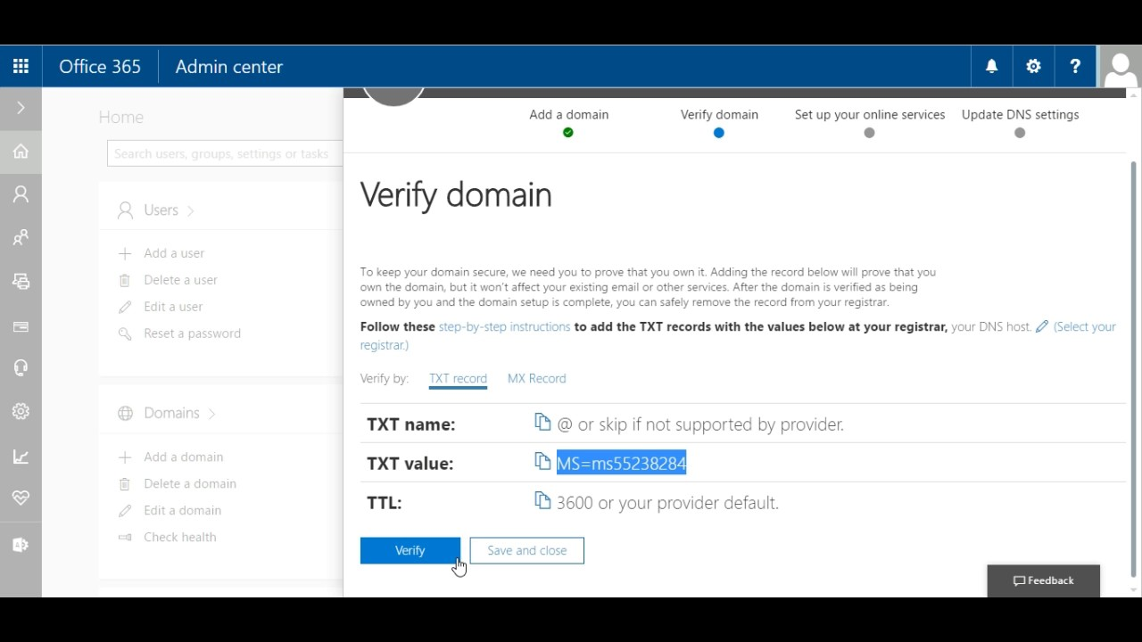 Office 365 – Cum sa adaugi un domeniu custom la contul de Office 365
