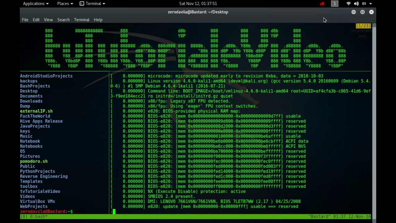 Tutoriale Video Busy Box -5- despre df,diff,dirname,dmesg,dnsdomainname,dosunix,du si dumpkmap