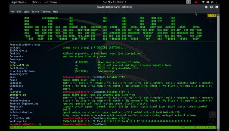 Tutoriale Video Busybox -19- despre stat,strings,stty, swapoff, swapon, switch_rootm sync si sysctl