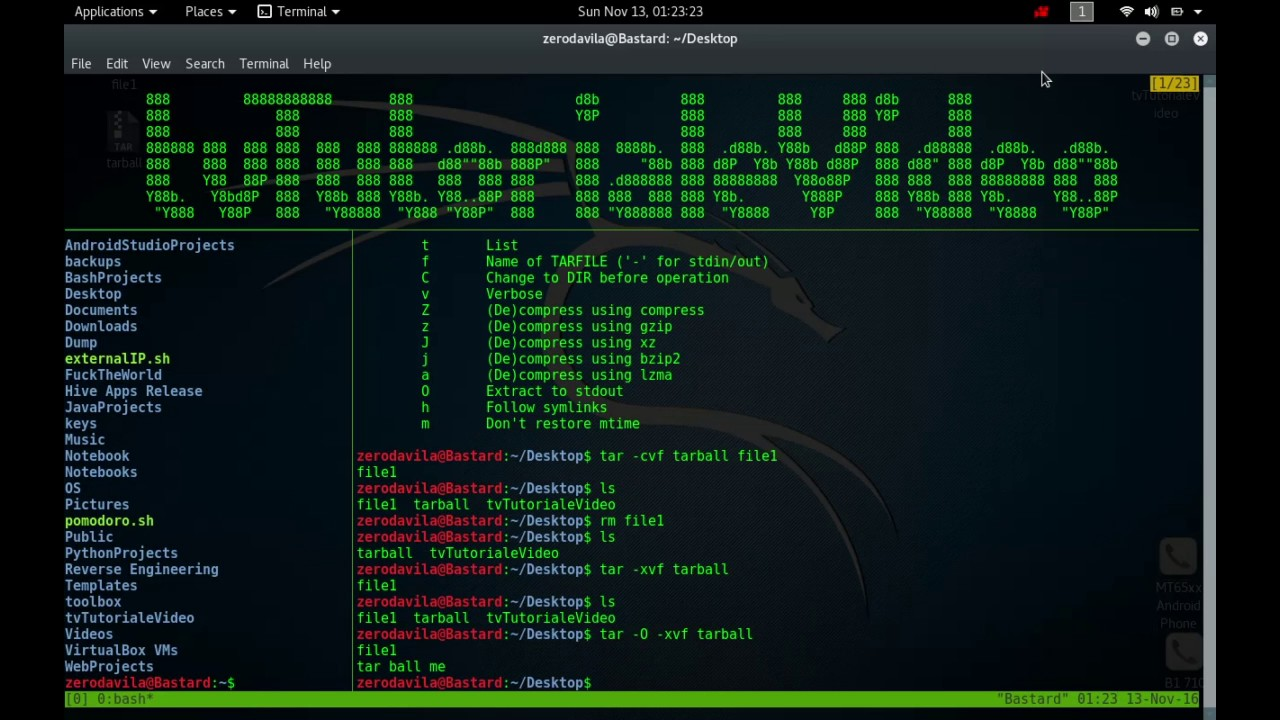 Tutoriale Video BusyBox -20- despre syslogd,tac, tail, tar, taskset, tee, telnet si test