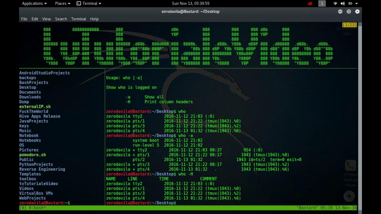 Tutoriale Video Busybox nr. 24 despre vi, watch,watchdog, we, wget, which, who