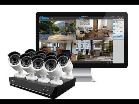 Unboxing RLK16-410B8 sistem de supraveghere complet IP
