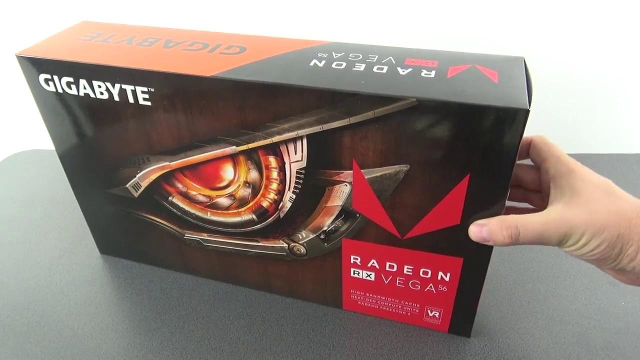 Unboxing RX VEGA 56 Gigabyte