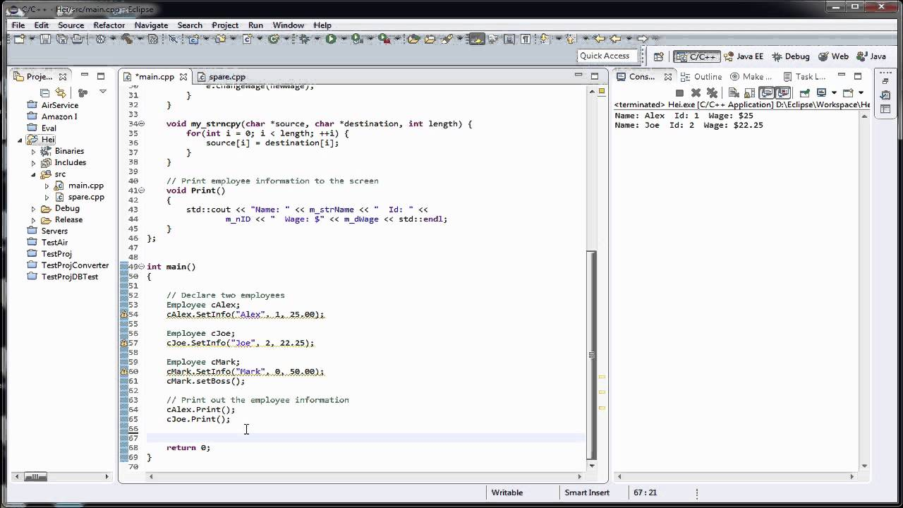 Tutoriale Video c++ nr. 33 despre clase si membrii unei clase detaliat