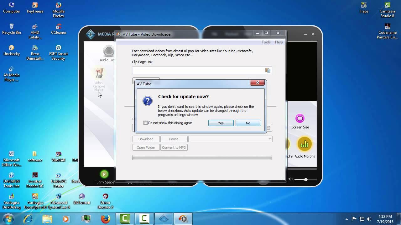 Un player multimedia cu posibilitati de editare audio-video
