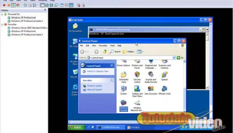 Configurarea unui server VNC pe Windows XP