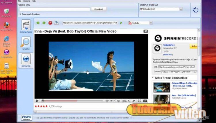 Descarca de pe Youtube si Trilulilu