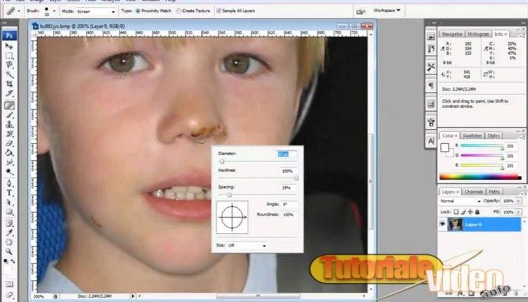 Retusarea imaginilor in Photoshop
