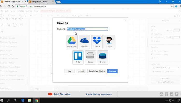 Aplicatie online gratuita pentru realizarea diagramelor