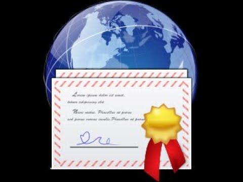 Instalarea unui certificat digital in Windows