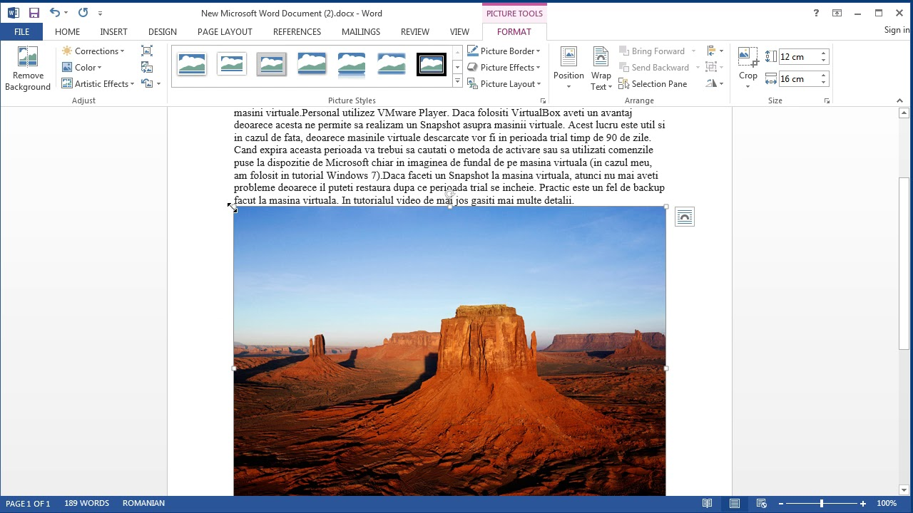 Ce este Wrap text din Microsoft Office ?