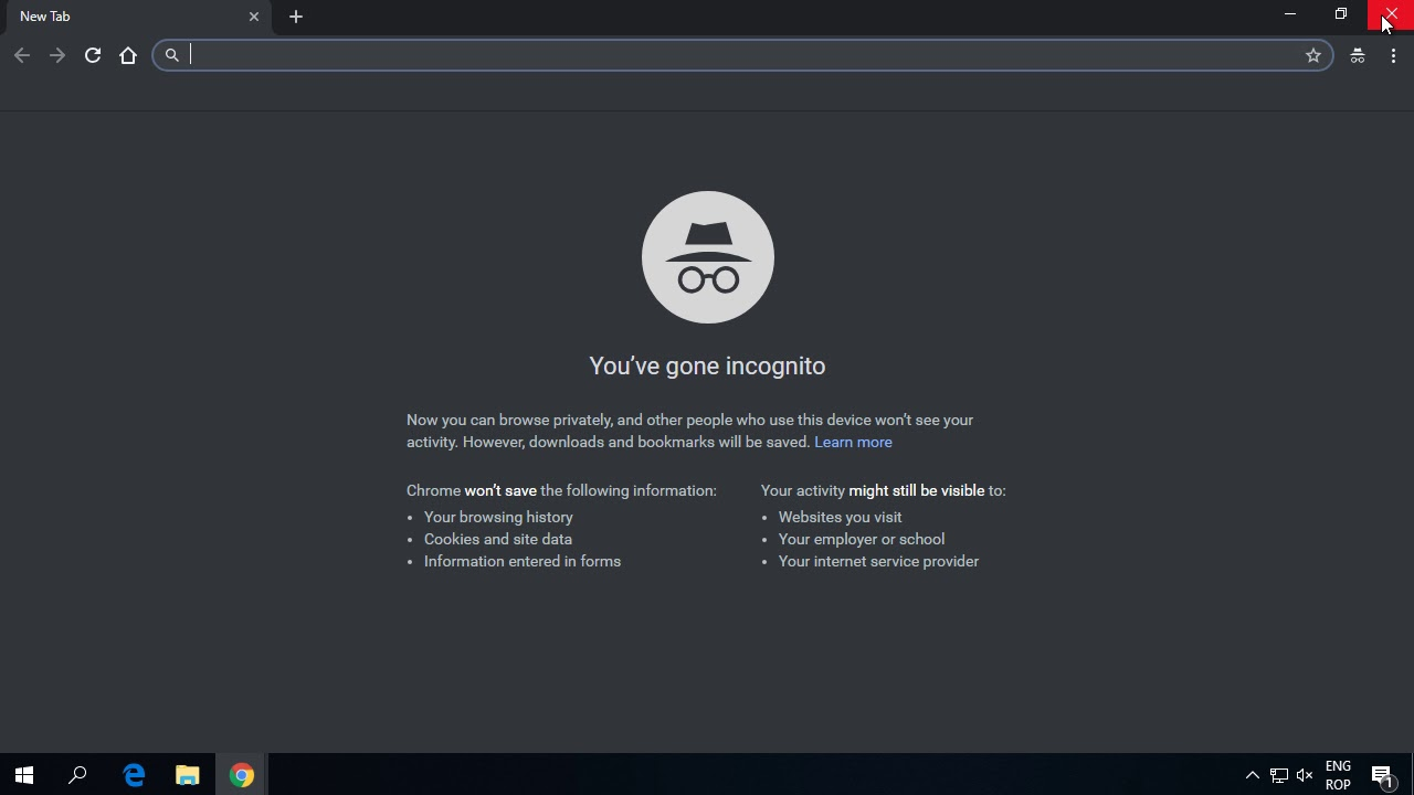 Cum poti utiliza extensiile din Chrome in Incognito ?
