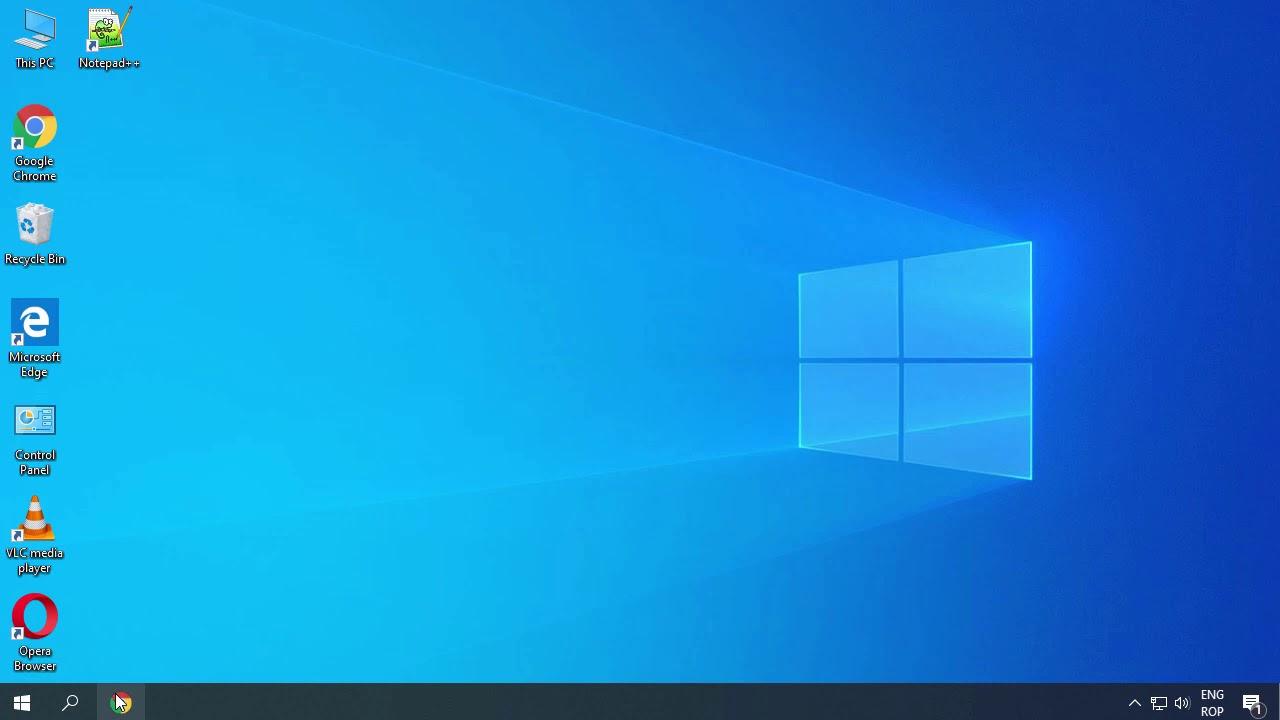 Comuta rapid intre mai multe Desktop-uri, direct din Taskbar