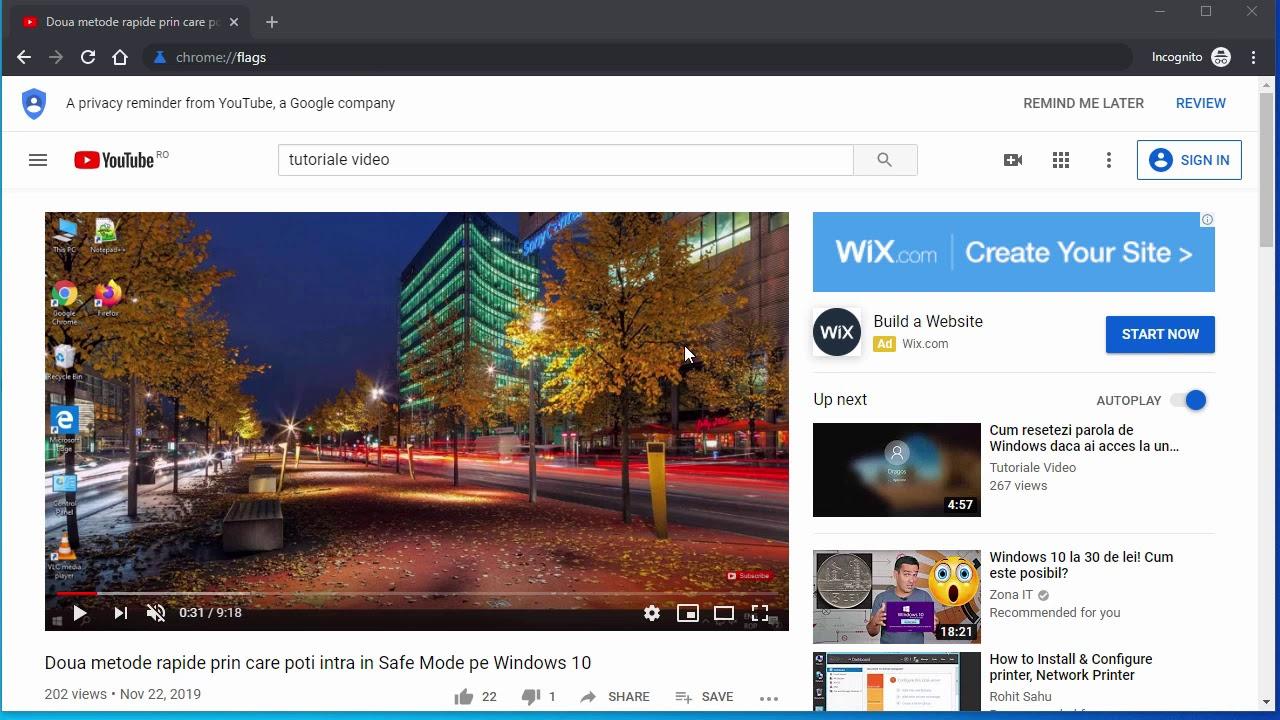 Dezactivare Pop-up de volum in Google Chrome