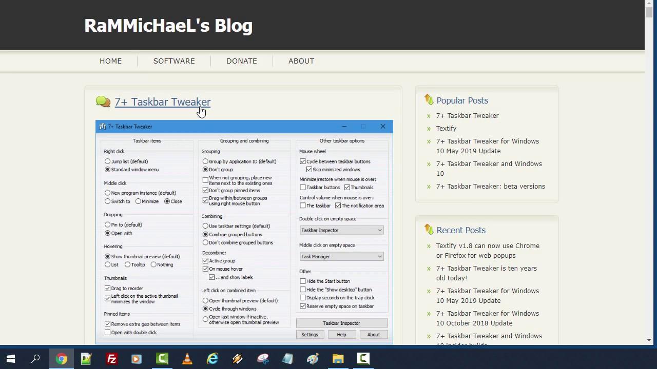 Cum dezactivezi reorganizarea programelor fixate pe taskbar ?