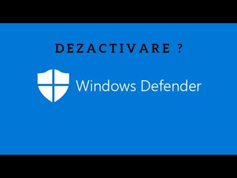 De ce nu merita sa dezactivezi Windows Defender de pe Windows 10?