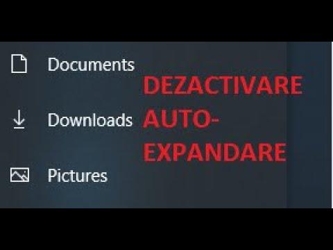 Dezactivare auto-expandare din Start Menu pe Windows 10